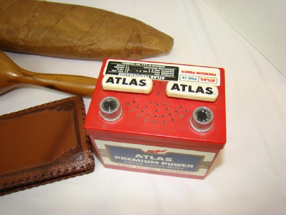 ADVERTISING ATLAS PREMIUM POWER BATTERY RADIO & MO - 4