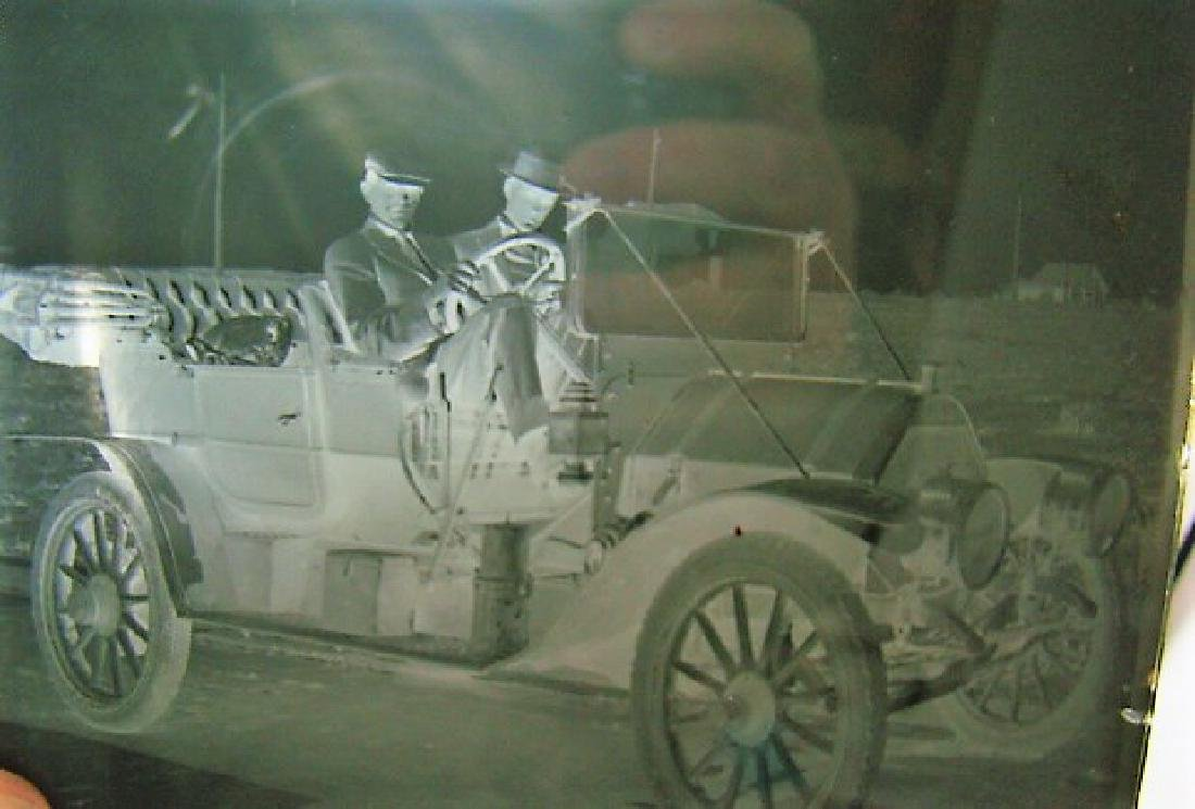 3 ANTIQUE PHOTO GLASS NEGATIVES-TRANSPORTATION - 2
