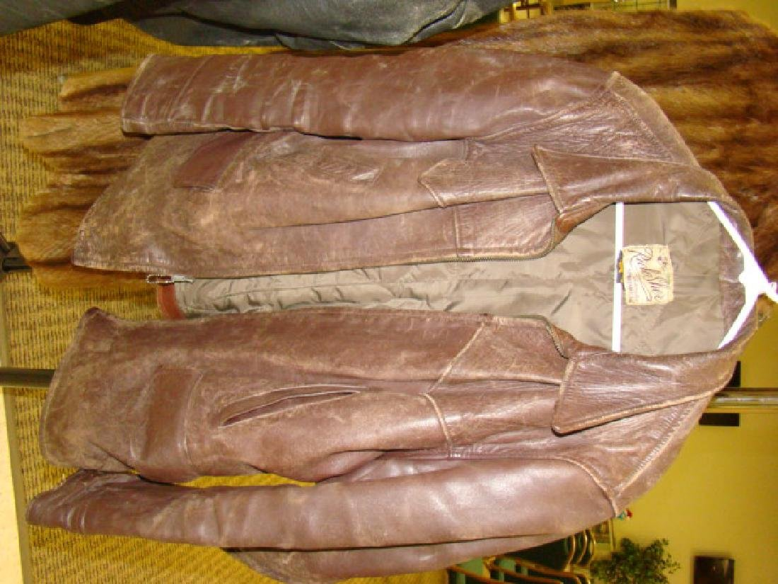 2 LEATHER JACKETS-RICH SHER & TAUBES OF CALIFORNIA - 4