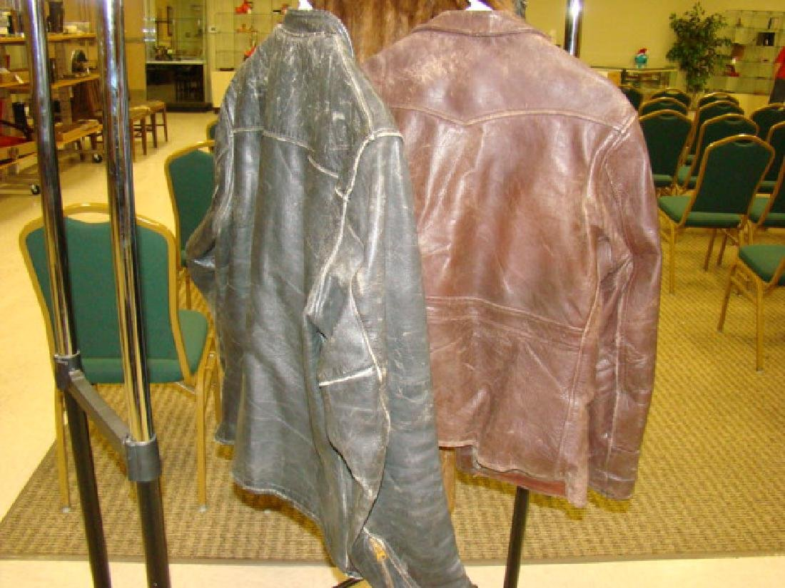 2 LEATHER JACKETS-RICH SHER & TAUBES OF CALIFORNIA - 6