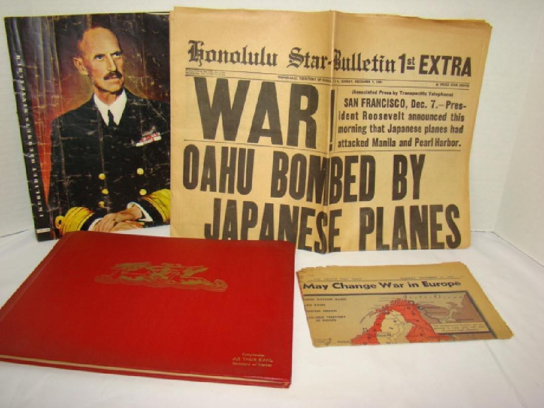 WWII NEWS ARTICLES-SCRAPBOOK ON NORWEGIAN PAINTING