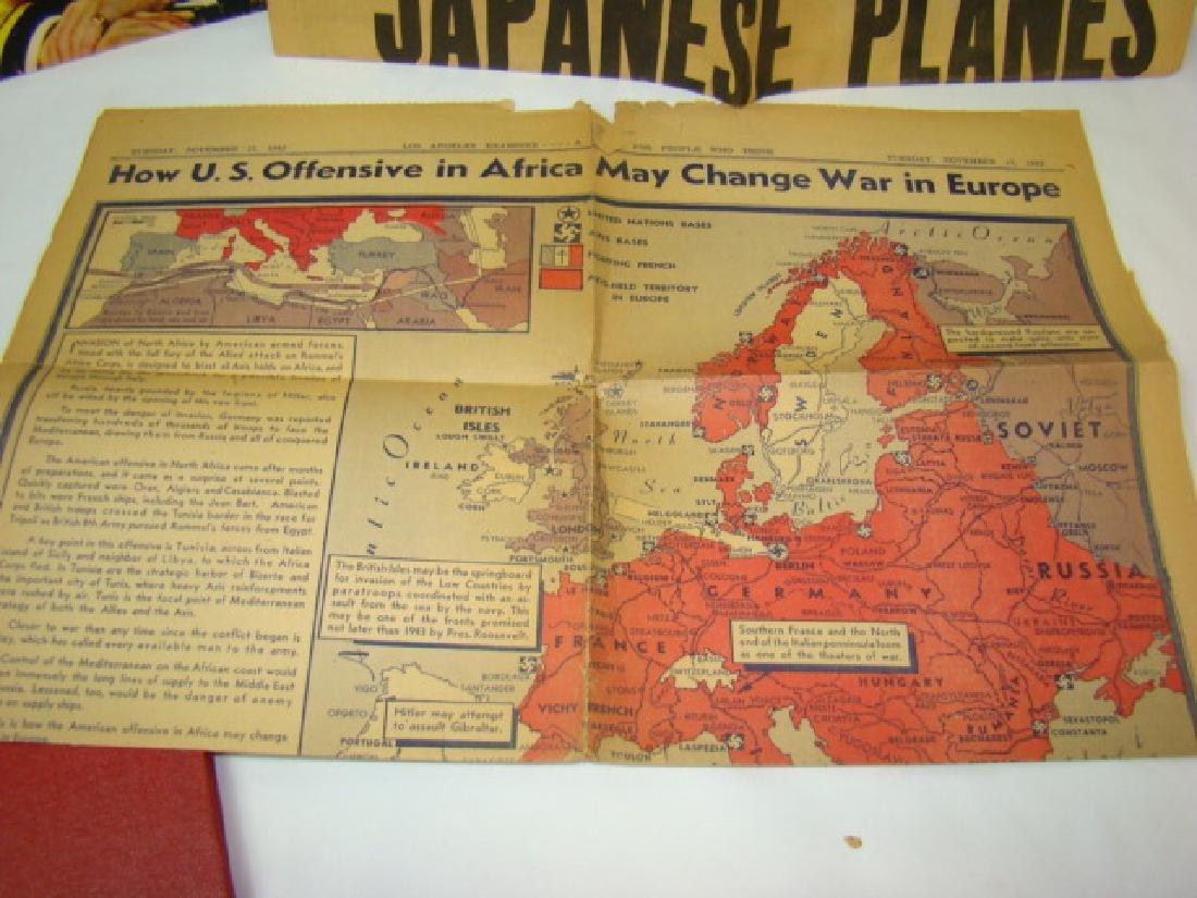 WWII NEWS ARTICLES-SCRAPBOOK ON NORWEGIAN PAINTING - 4