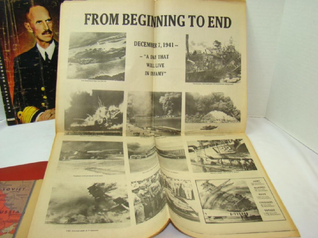 WWII NEWS ARTICLES-SCRAPBOOK ON NORWEGIAN PAINTING - 6