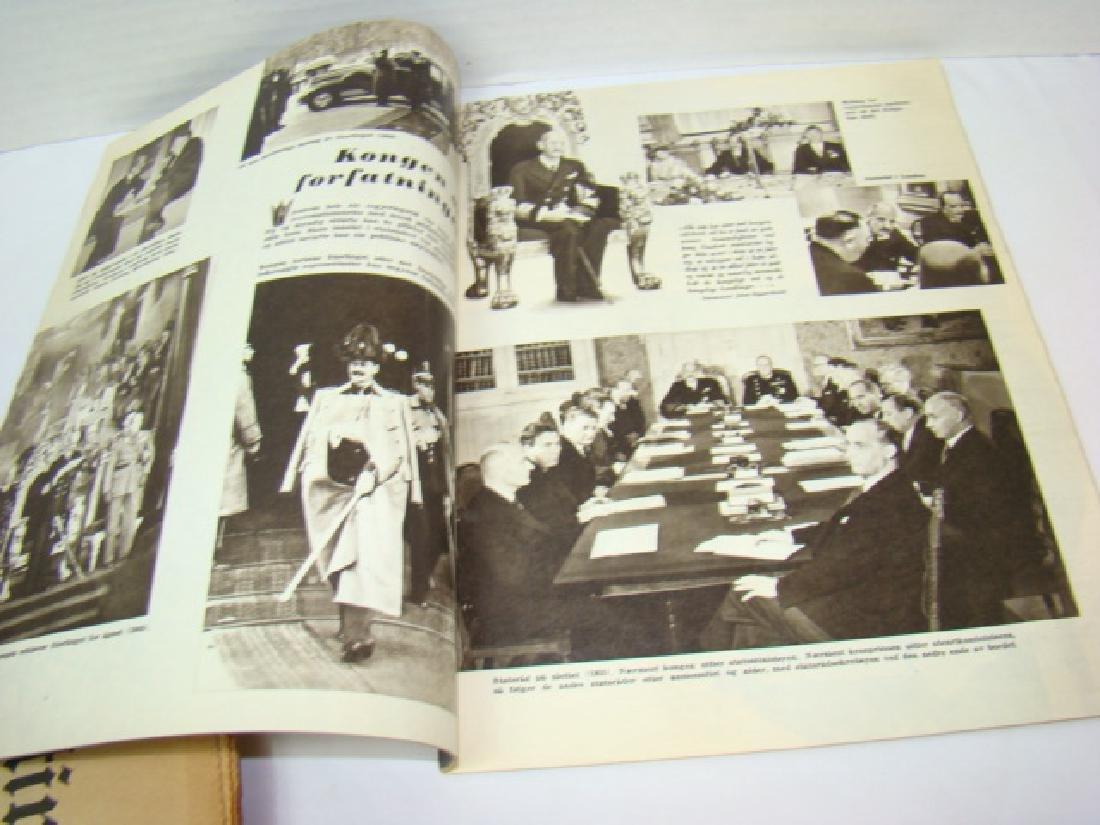 WWII NEWS ARTICLES-SCRAPBOOK ON NORWEGIAN PAINTING - 7