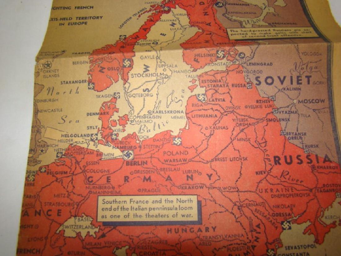 WWII NEWS ARTICLES-SCRAPBOOK ON NORWEGIAN PAINTING - 8