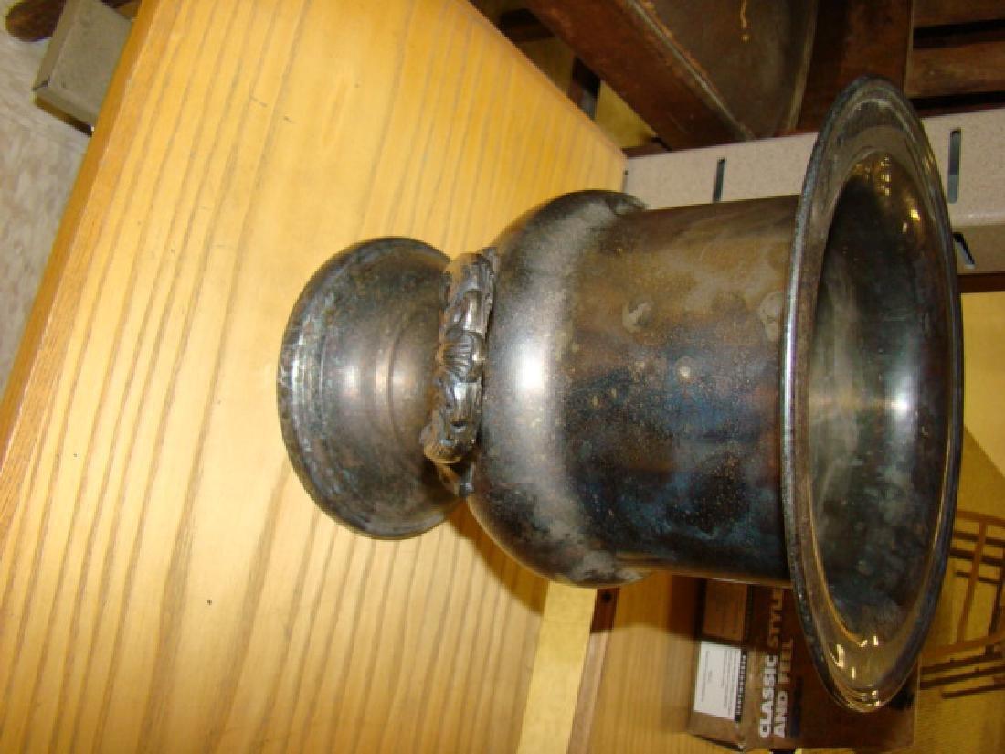 SILVER PLATE CHAMPAIGNE BUCKET - 2