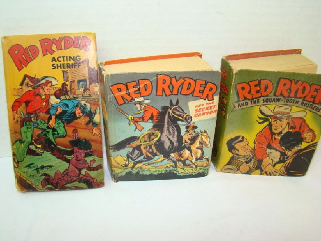 3 1940'S RED RYDER BETTER LITTLE BOOKS