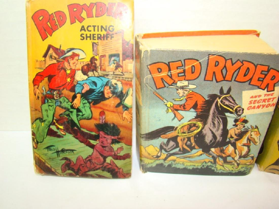 3 1940'S RED RYDER BETTER LITTLE BOOKS - 2