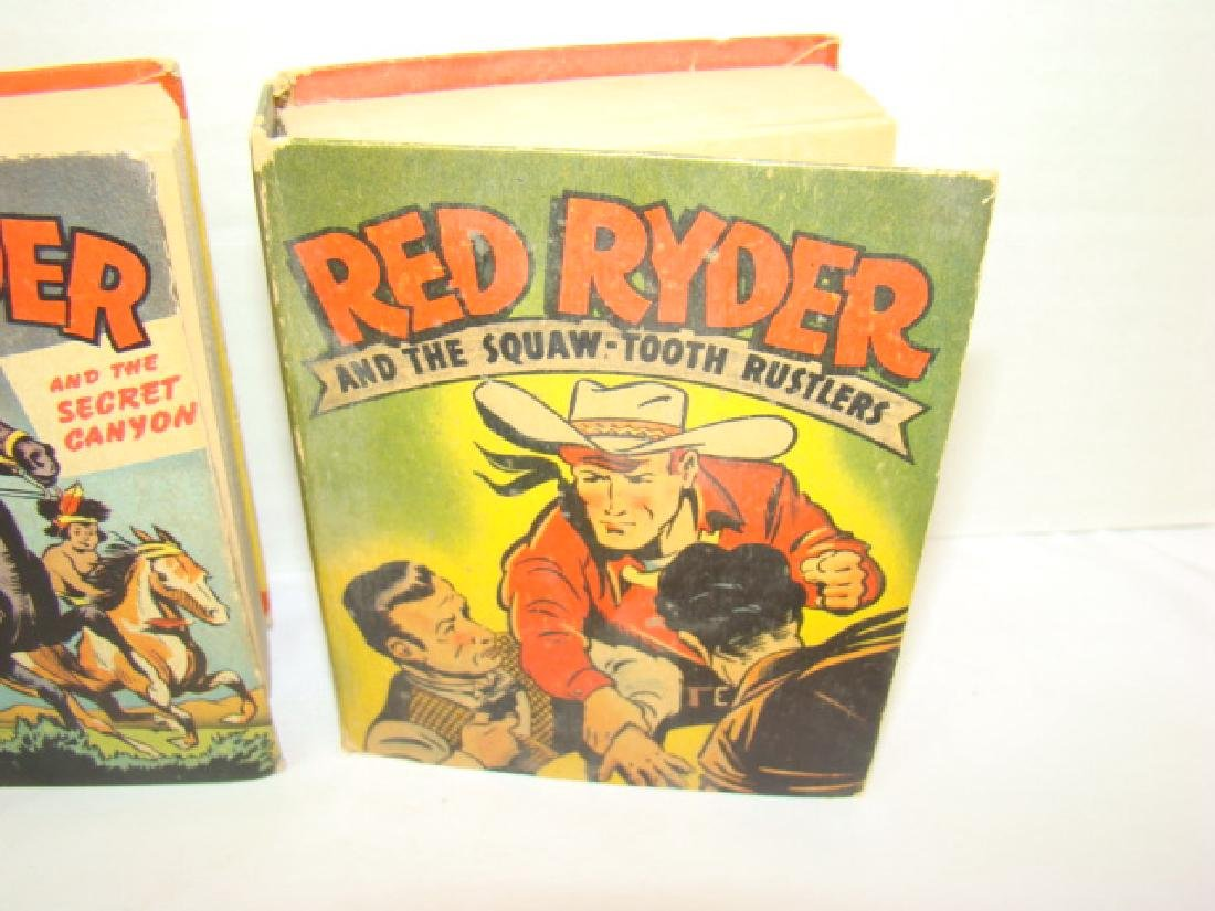 3 1940'S RED RYDER BETTER LITTLE BOOKS - 3