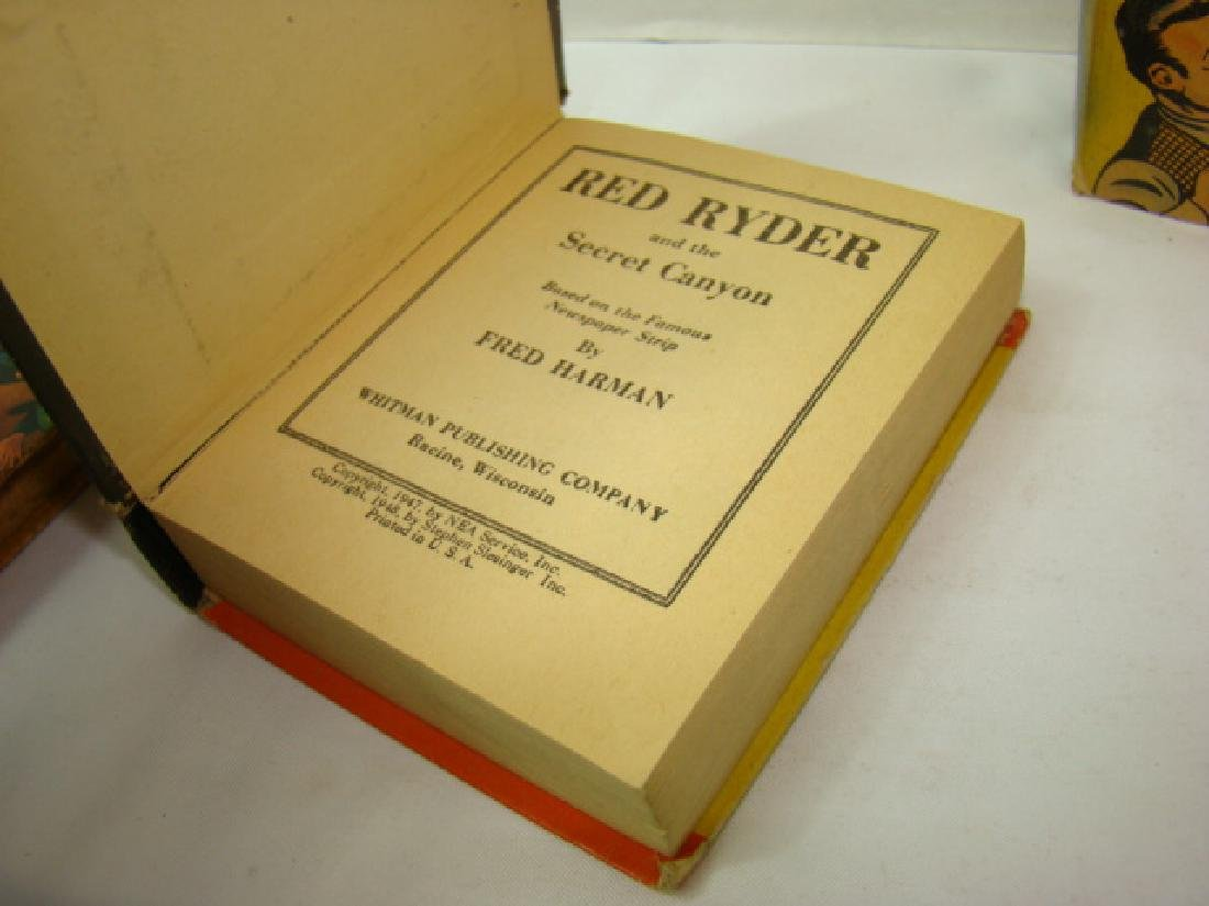 3 1940'S RED RYDER BETTER LITTLE BOOKS - 5