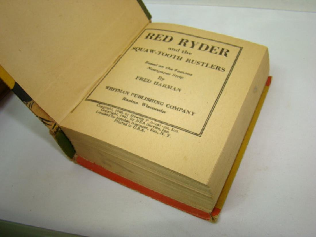 3 1940'S RED RYDER BETTER LITTLE BOOKS - 6