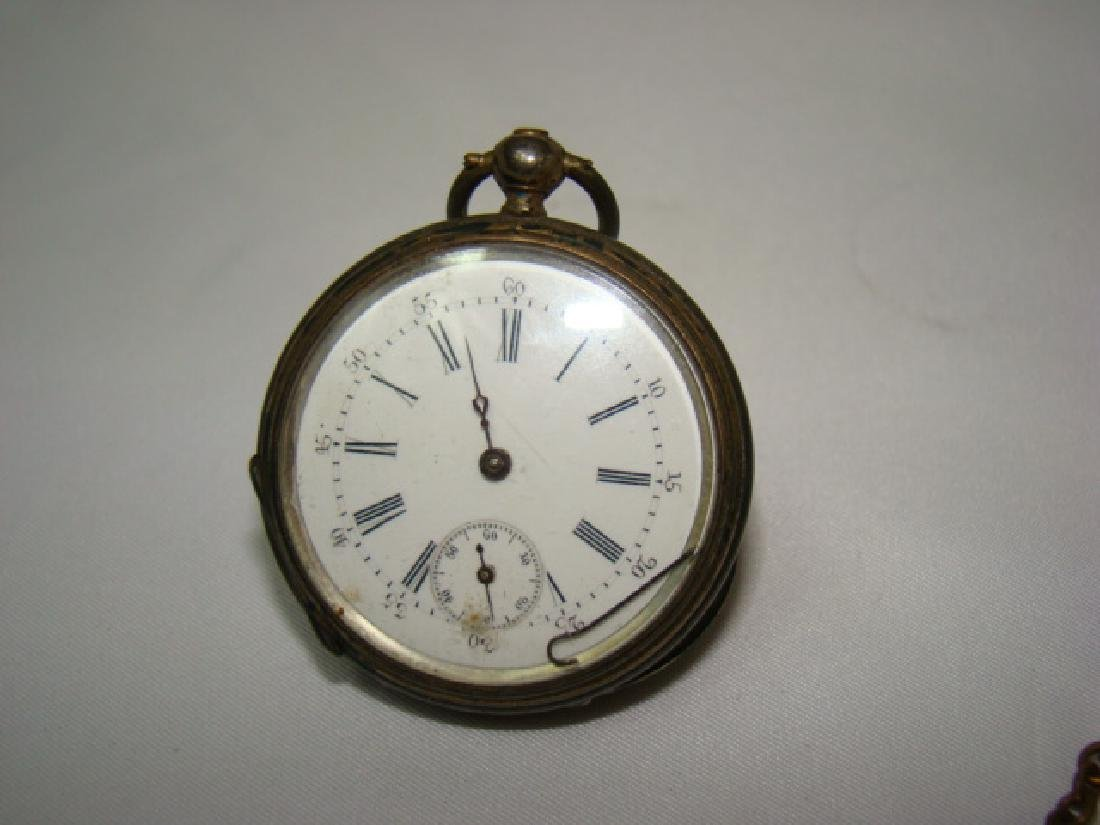 ANTIQUE KEY WIND CHRONO POCKET WATCH AND MORE - 2