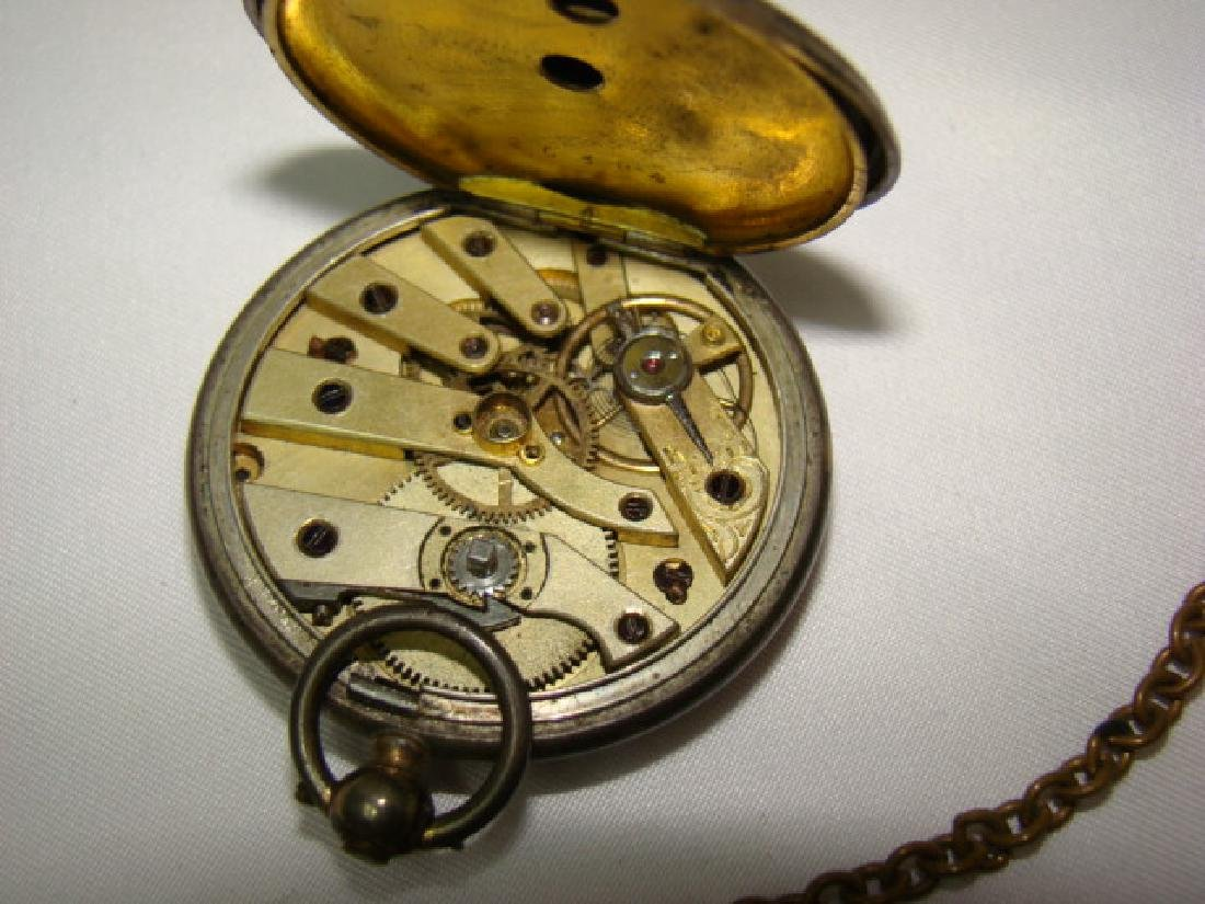 ANTIQUE KEY WIND CHRONO POCKET WATCH AND MORE - 3