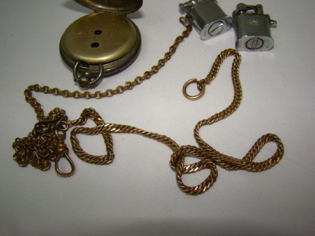 ANTIQUE KEY WIND CHRONO POCKET WATCH AND MORE - 7