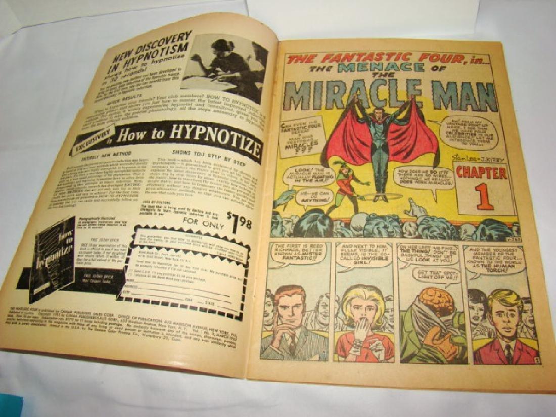 RARE FANTASTIC FOUR VOL 1 #3 - MARCH 1962- 12 CENT - 10