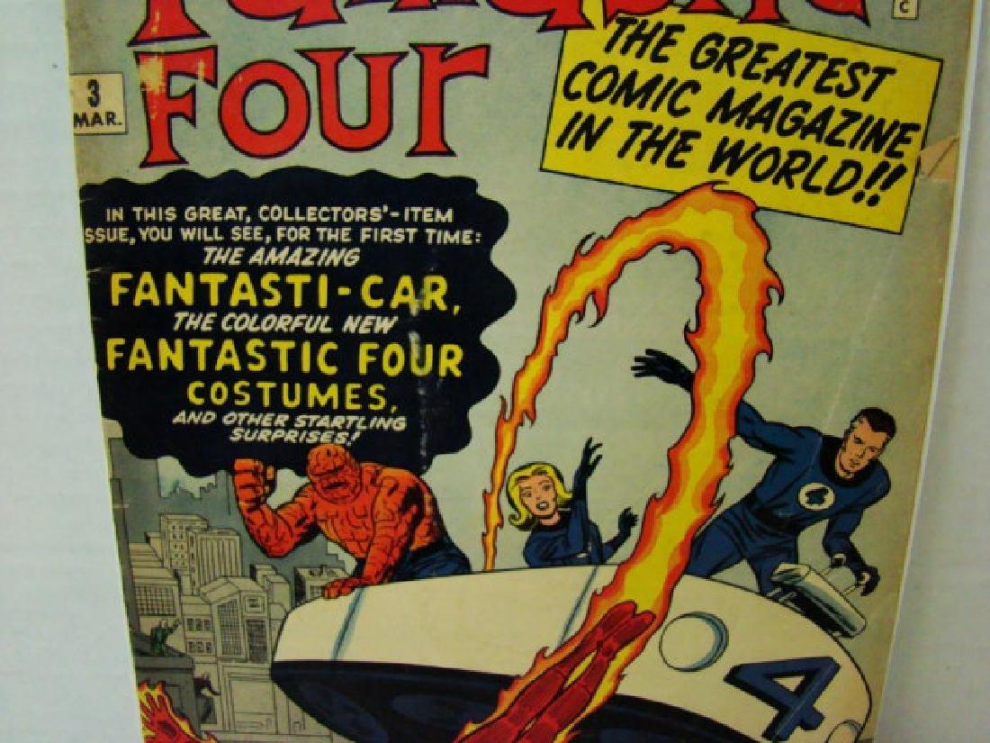 RARE FANTASTIC FOUR VOL 1 #3 - MARCH 1962- 12 CENT - 3
