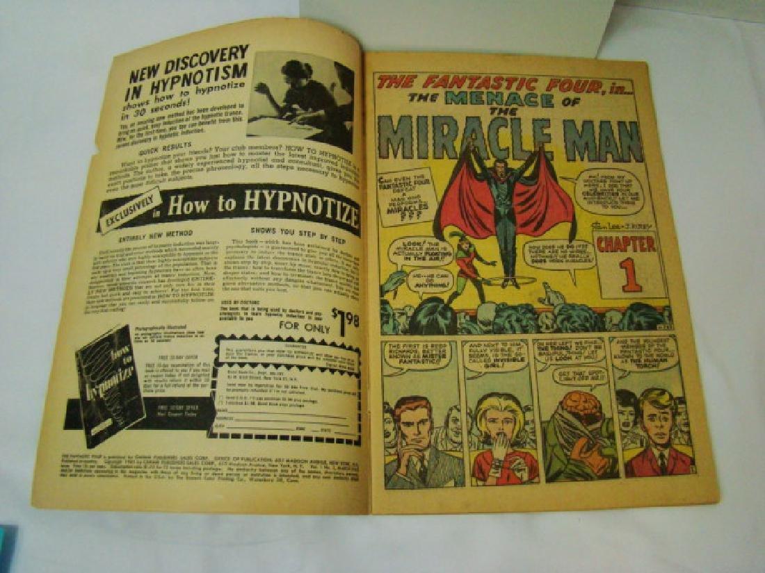 RARE FANTASTIC FOUR VOL 1 #3 - MARCH 1962- 12 CENT - 6