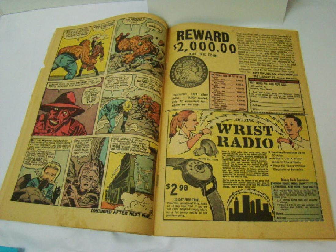 RARE FANTASTIC FOUR VOL 1 #3 - MARCH 1962- 12 CENT - 7
