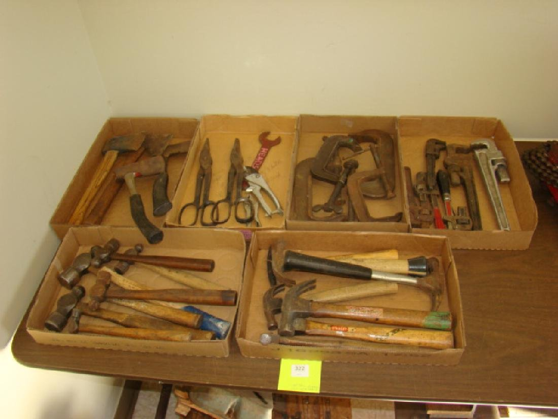 LARGE LOT OF VARIOUS TOOLS