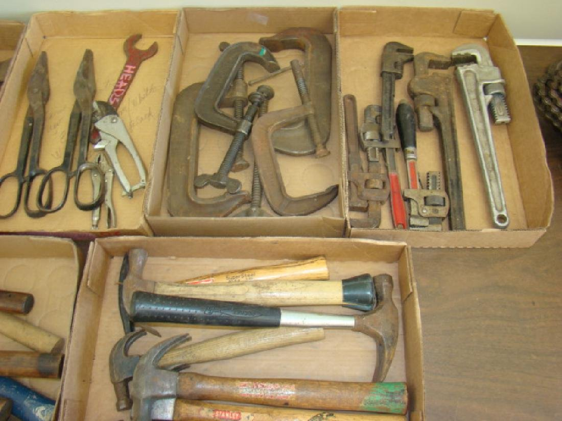 LARGE LOT OF VARIOUS TOOLS - 3