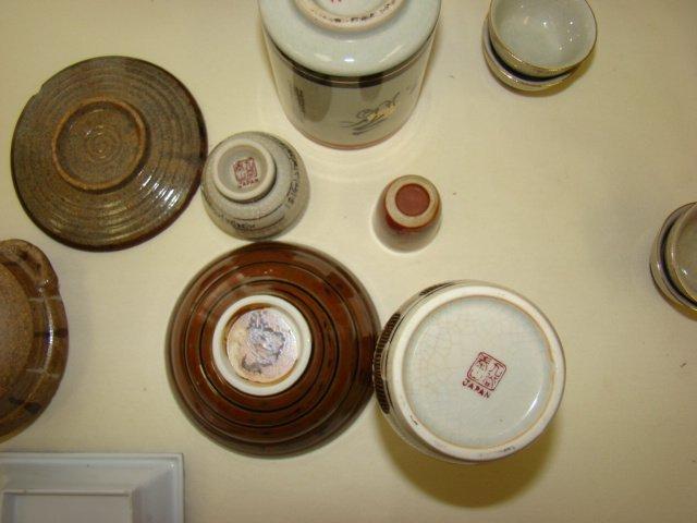 ONEIDA CRAFT STAINLESS FLATWARE & SAKE DISHES - 3