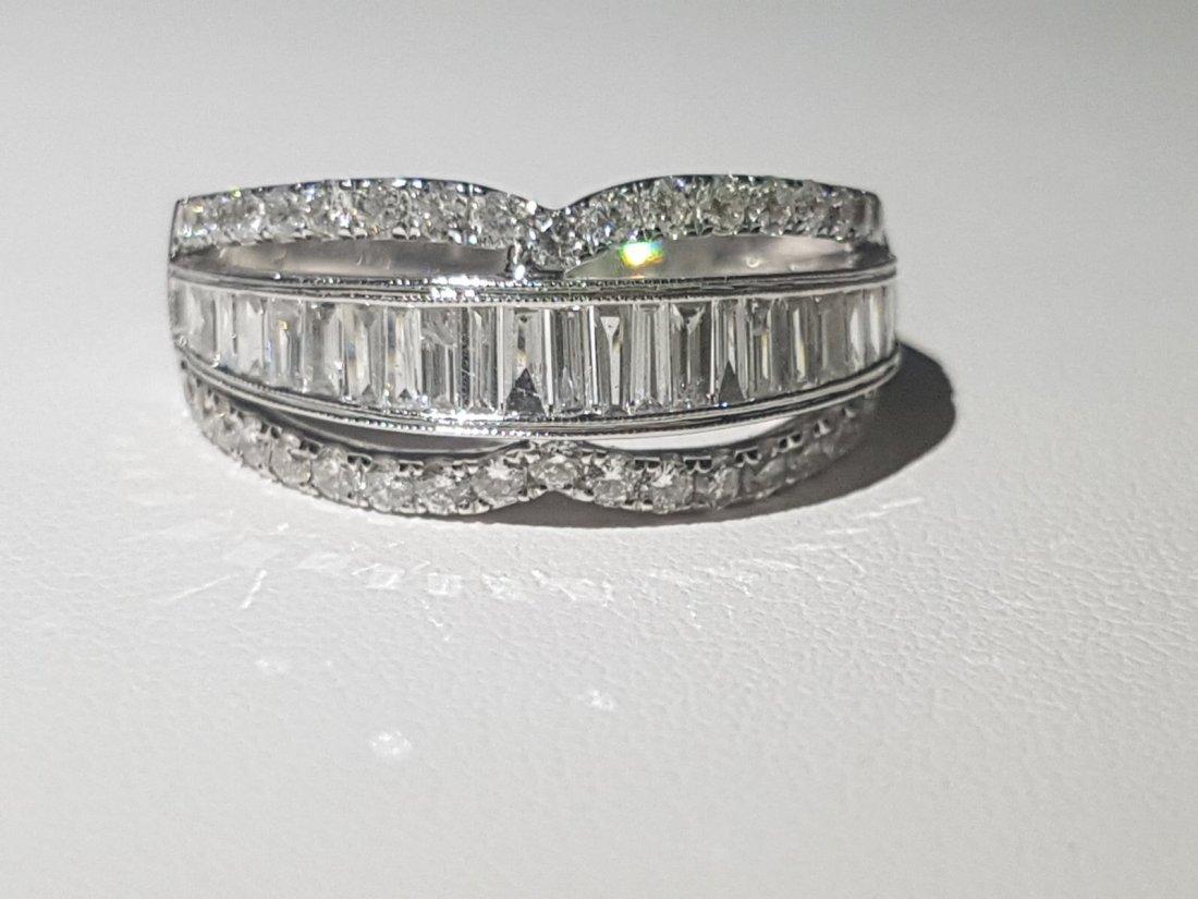18K 750 DIAMOND WEDDING BAND