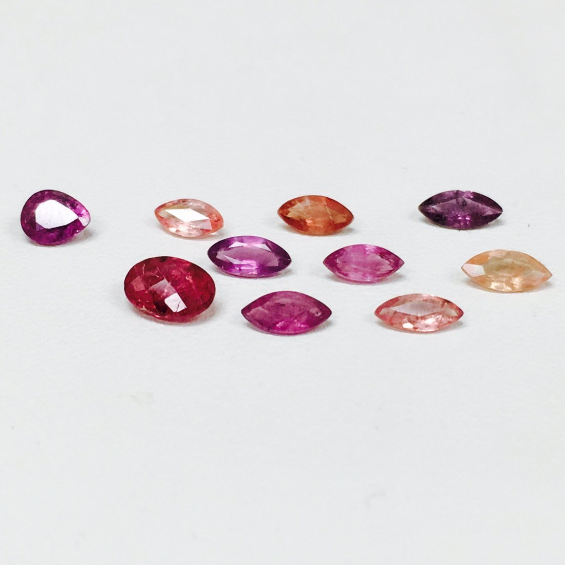2.95 Carat, All Natural Ruby and Mix Sapphire Lot