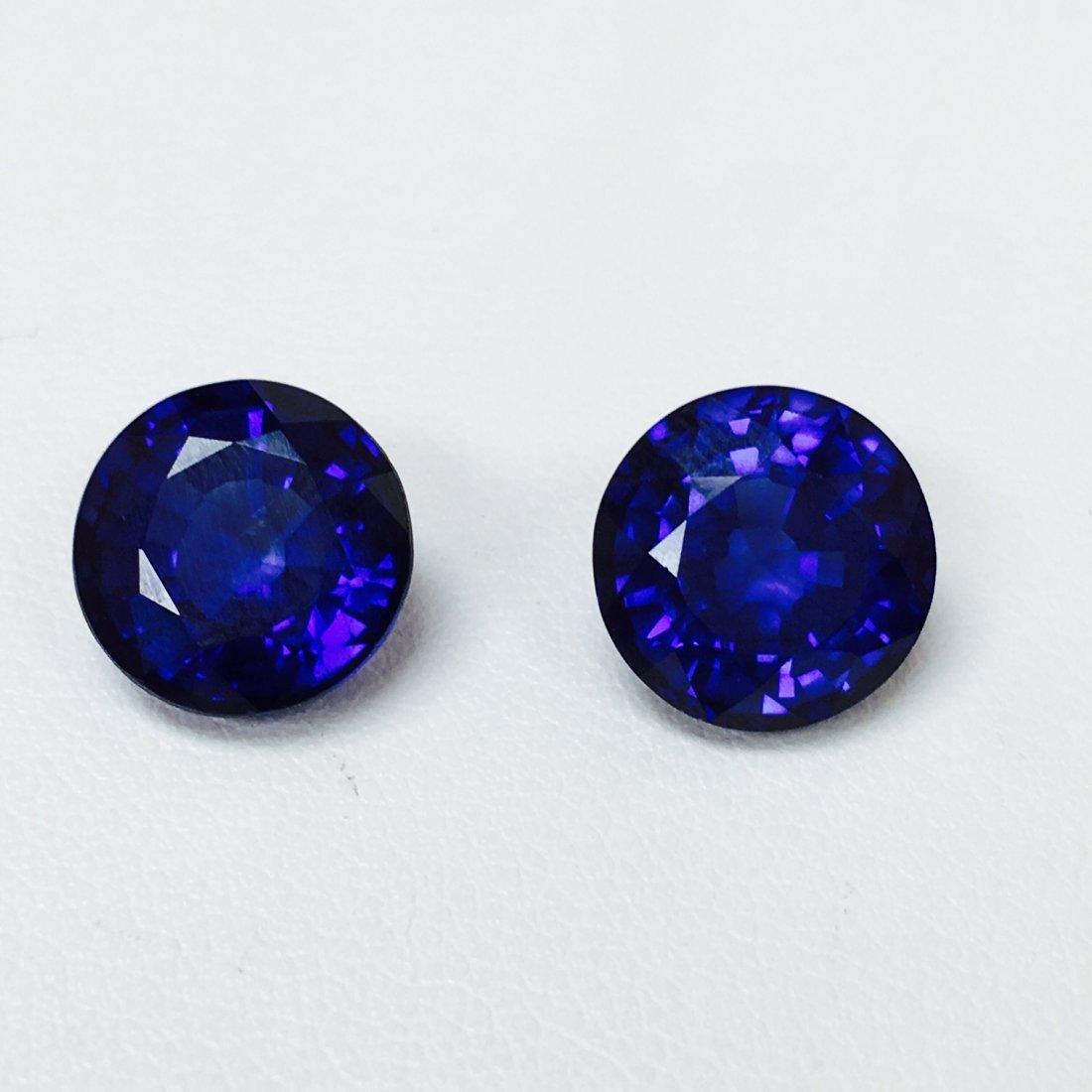 10.70 Carat, Natural Blue Sapphire lot