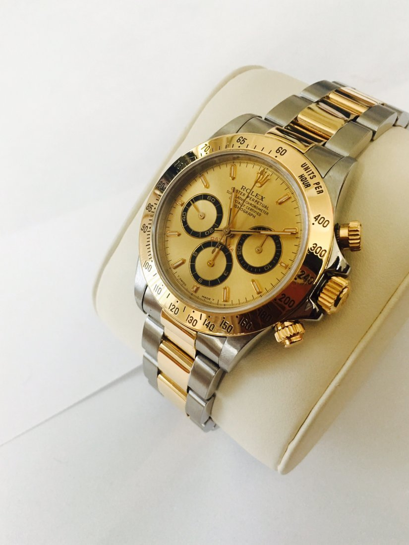 Rolex Daytona Steel And 18k Gold VERY COLLECTIBLE WATCH