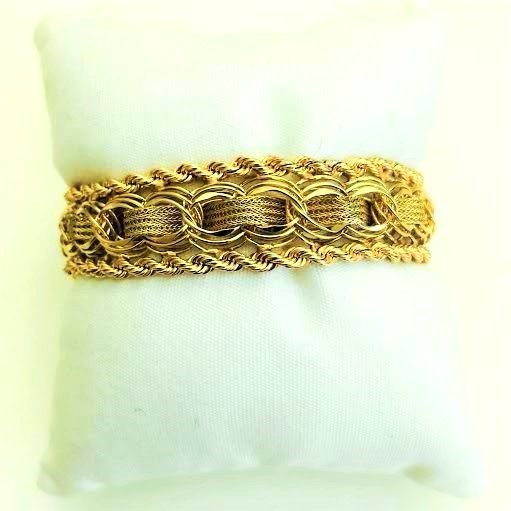 Vintage 14K Yellow Gold Bracelet