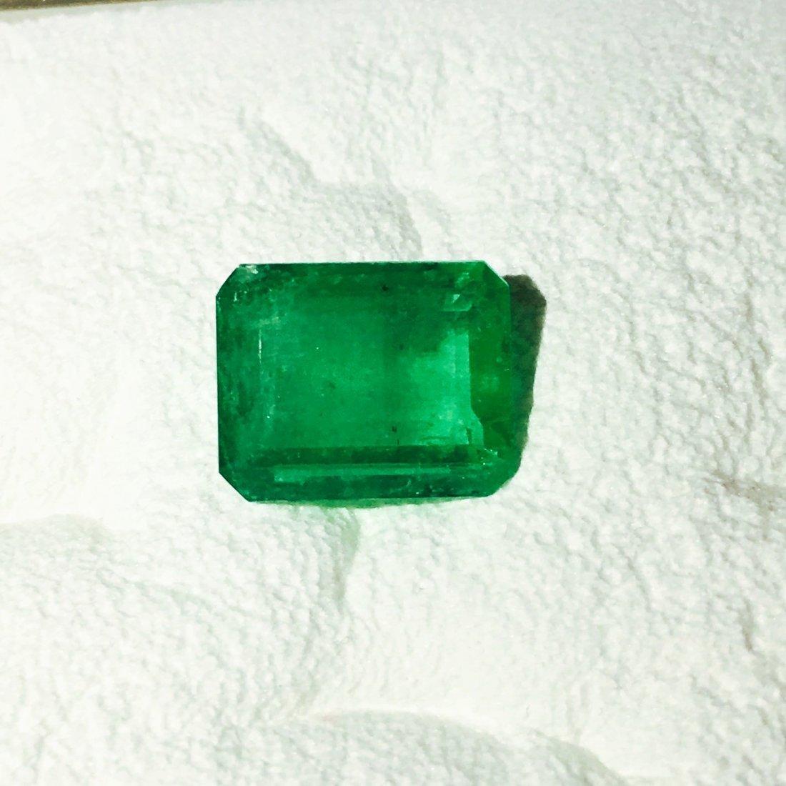7.30Carat, 100% Natural Colombian Emerald