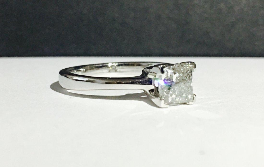 1.00 CARAT DIAMOND ENGAGEMENT RING - 2
