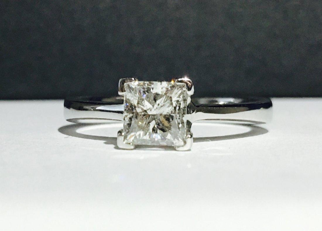 1.00 CARAT DIAMOND ENGAGEMENT RING - 3