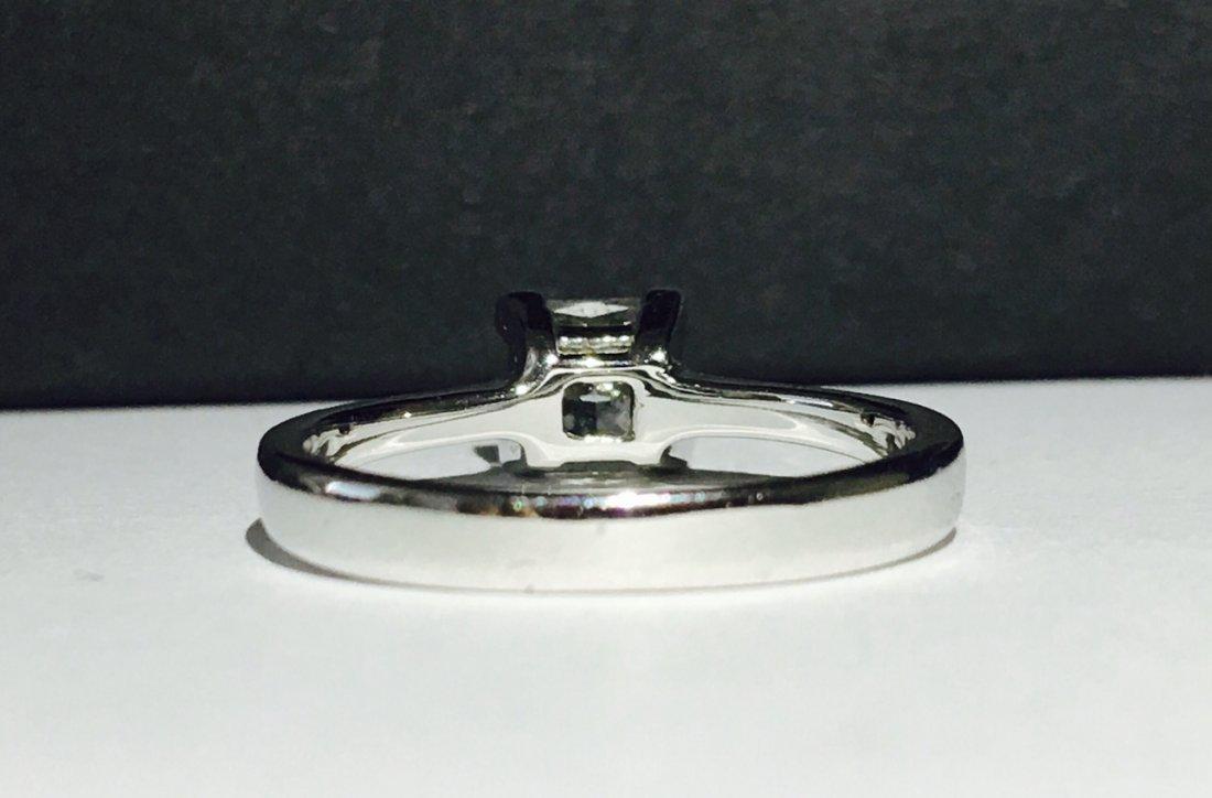 1.00 CARAT DIAMOND ENGAGEMENT RING - 4
