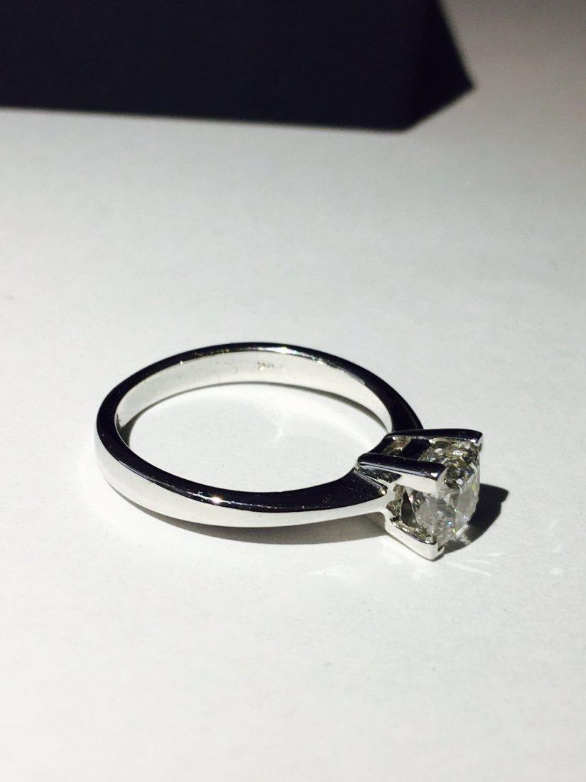 1.00 CARAT DIAMOND ENGAGEMENT RING - 5