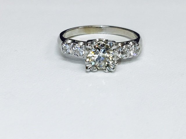 1.35 Carat Diamonds VS clarity, 14K Engagement Ring