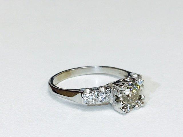 1.35 Carat Diamonds VS clarity, 14K Engagement Ring - 2