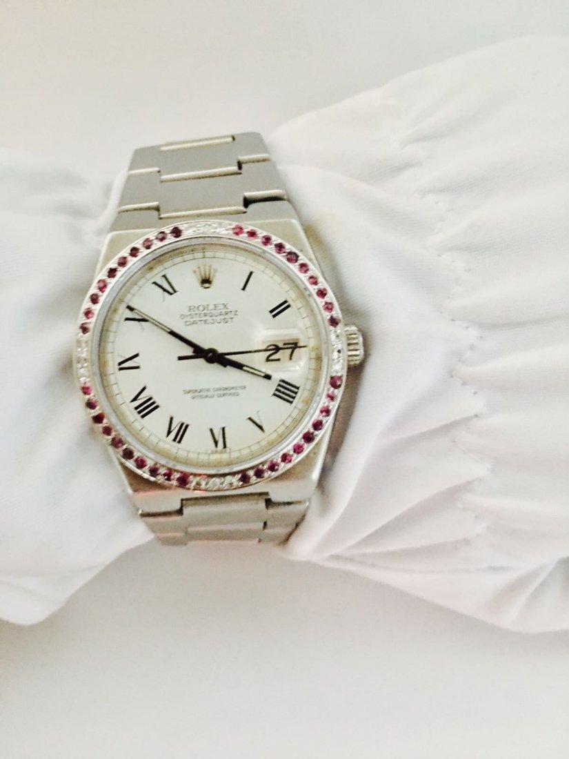 Rolex-Oysterquartz-Datejust-17000 Very RARE