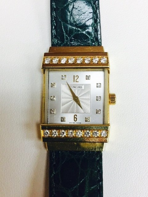 Concord Crystale 18K Gold VVS DIAMONDS
