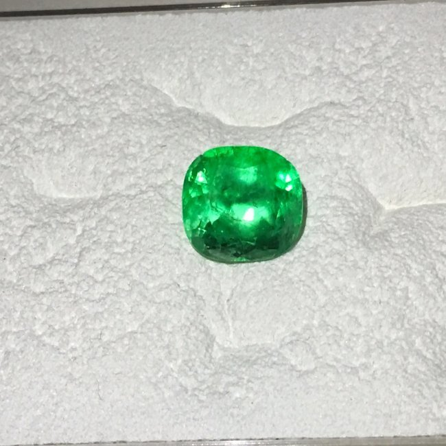 8.90ct Oval cut Colombian Emerald