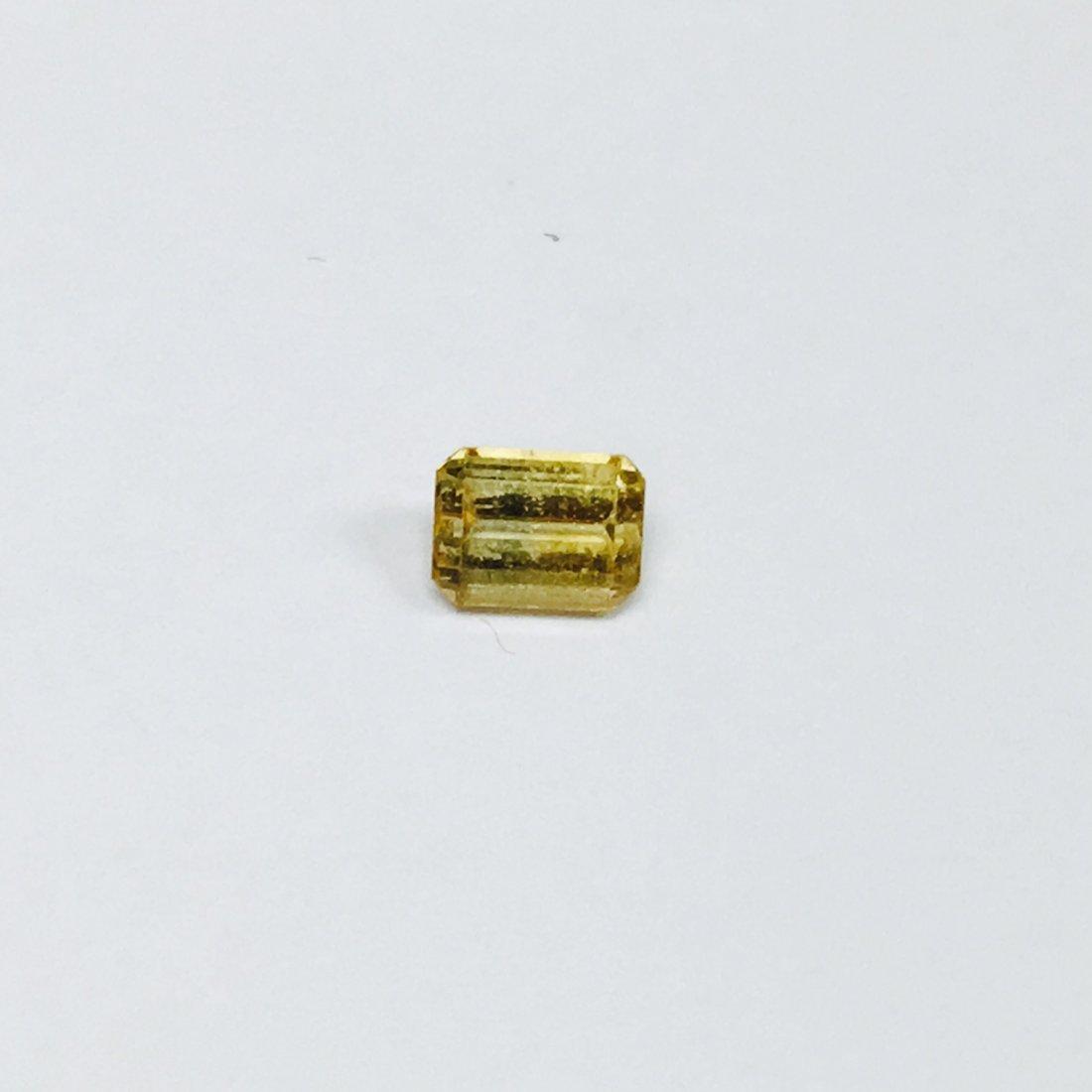 0.70 Carat Yellow Sapphire, 100% Natural Good Quality
