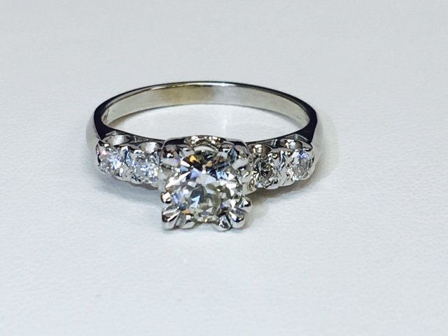 1.35 Carat Diamonds VS clarity, 14K Engagement Ring