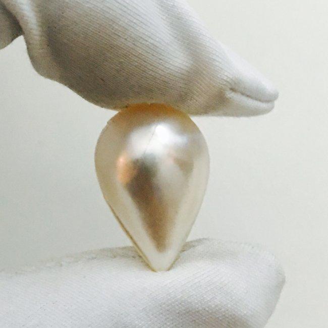 7.60 Carat Natural Pearl. 100% Natural.