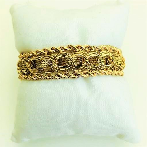 Vintage 14K Yellow Gold Bracelet - 2