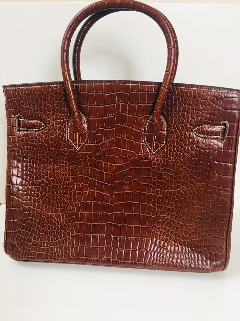 Hermes Alligator Leather Bag! 100% Genuine & Authentic - 2