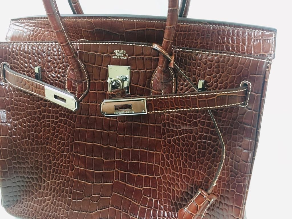 Hermes Alligator Leather Bag! 100% Genuine & Authentic - 4