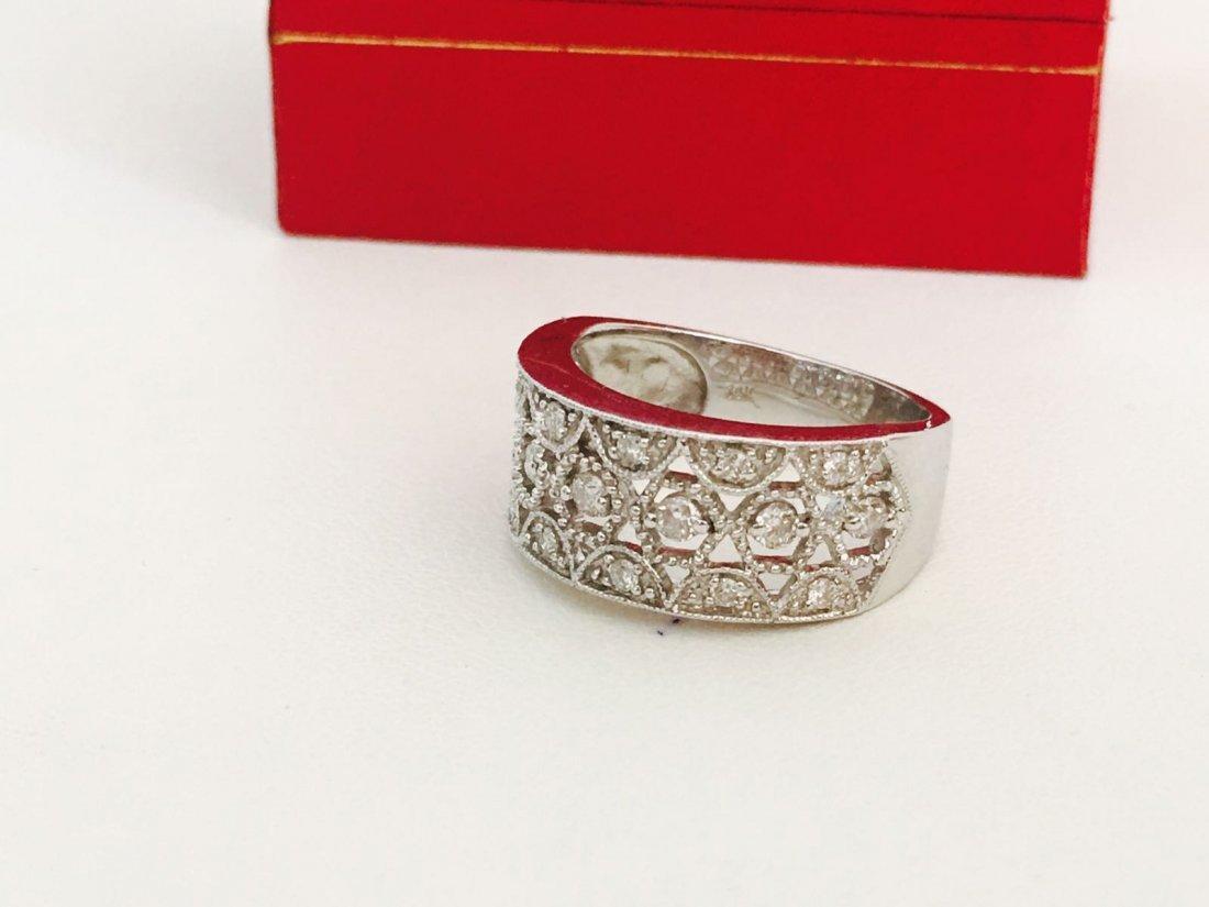 14K Gold, 1.20 Carat VS clarity Diamond Ring - 2
