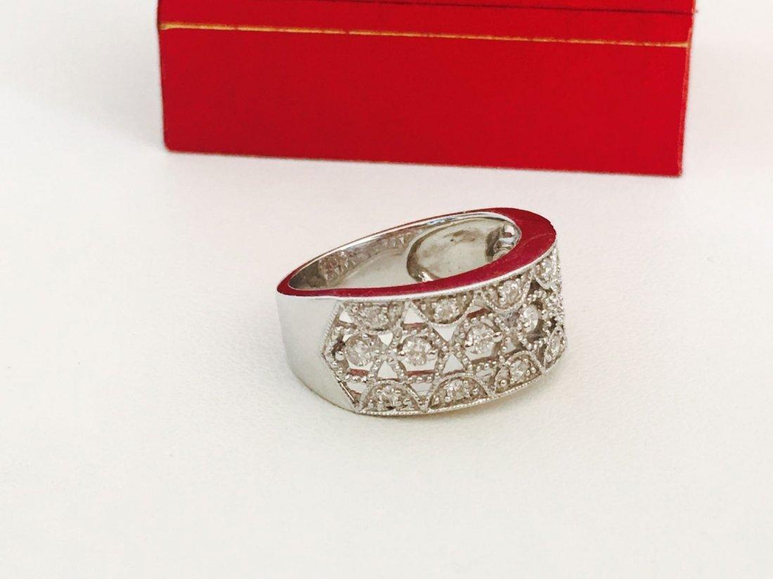 14K Gold, 1.20 Carat VS clarity Diamond Ring - 3