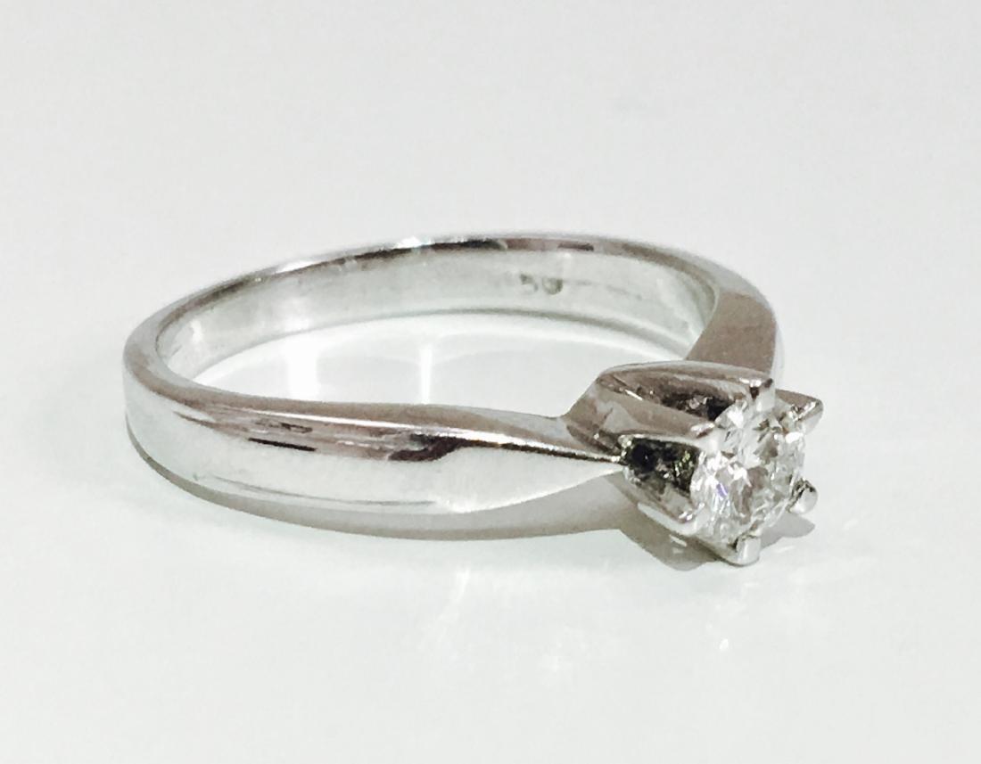 18K 750, 0.35 carat VS/G Diamond Engagement Ring - 2