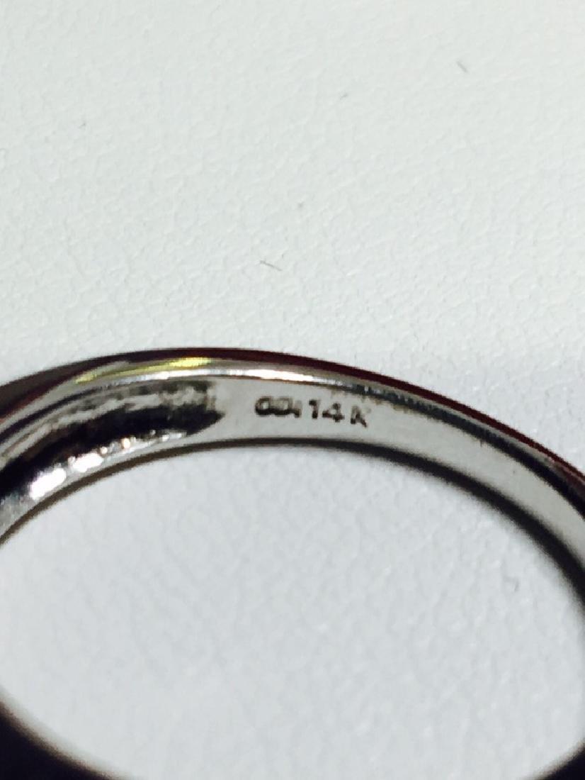 1.00 CTW VS-SI Marquise Diamond Engagement Ring - 4